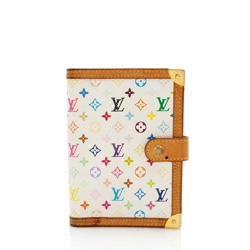 Louis Vuitton Monogram Multicolore Small Ring Agenda Cover