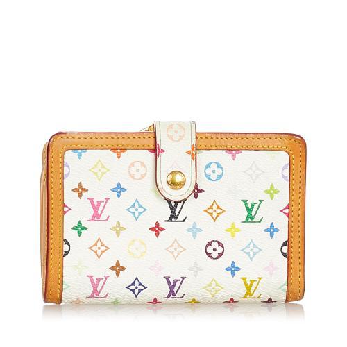 Louis Vuitton Monogram Multicolore Viennois Continental Wallet
