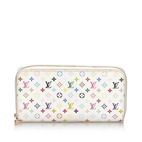 Louis Vuitton Monogram Multicolore Zippy Wallet