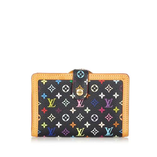 Louis Vuitton Monogram Muticolore Viennois Continental Wallet