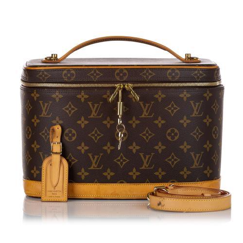 Louis Vuitton Monogram Nice Vanity Case
