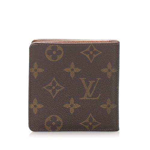 Louis Vuitton Monogram Canvas Porte Cartes Bifold Wallet