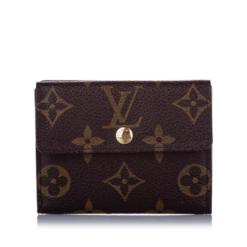 Louis Vuitton Monogram Portefeuille Elise Wallet