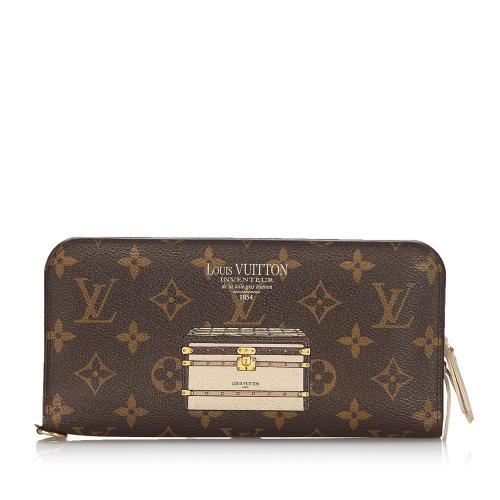 Louis Vuitton Monogram Trunks and Lock Insolite Wallet