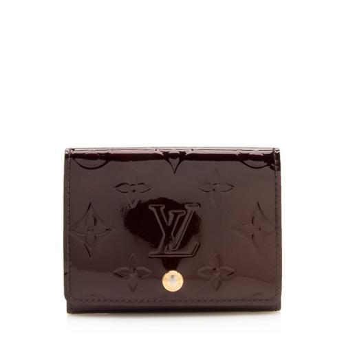 Louis Vuitton Monogram Vernis Business Card Holder