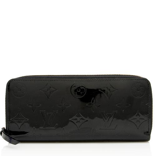 Louis Vuitton Monogram Vernis Clemence Wallet