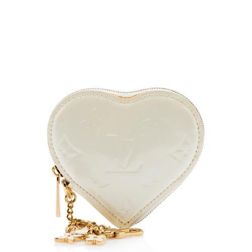 Louis Vuitton Monogram Vernis Heart Coin Wallet