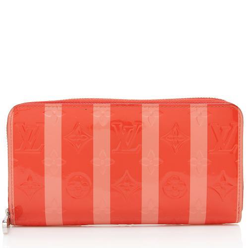 Louis Vuitton Monogram Vernis Rayures Zippy Wallet