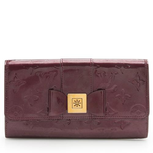 Louis Vuitton Monogram Vernis Sarah Noeud Wallet - FINAL SALE