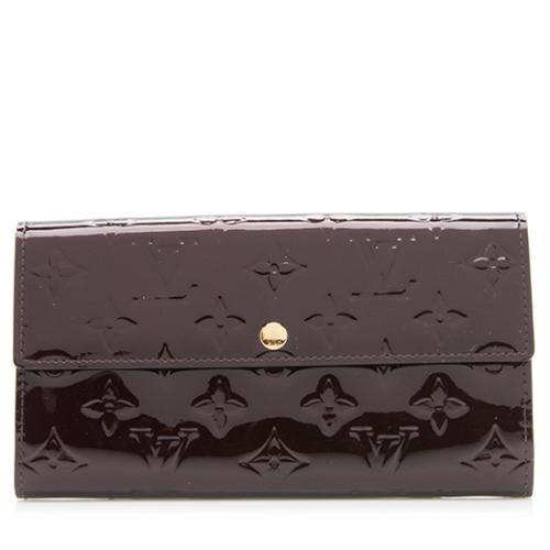 Louis Vuitton Monogram Vernis Sarah Wallet