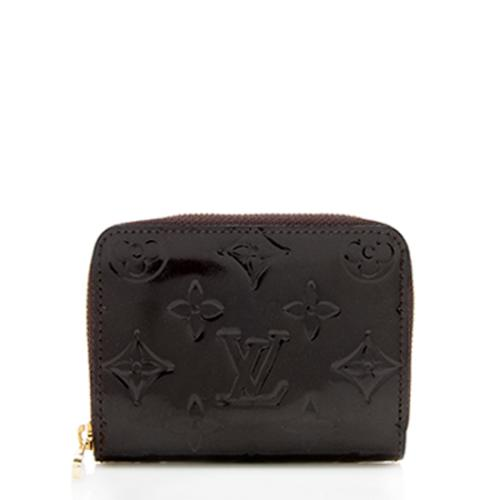 Louis Vuitton Monogram Vernis Zippy Coin Wallet