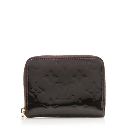 Louis Vuitton Monogram Vernis Zippy Coin Wallet