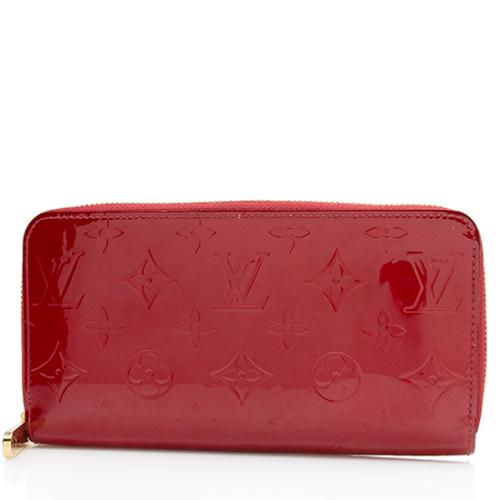 Louis Vuitton Monogram Vernis Zippy Wallet