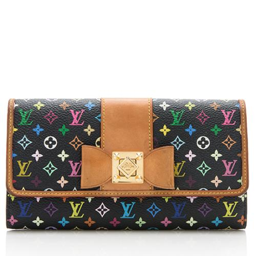 Louis Vuitton Multicolore Monogram Sarah Noeud Wallet