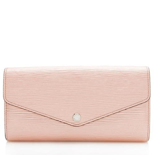 Louis Vuitton Nacre Epi Leather Sarah Wallet