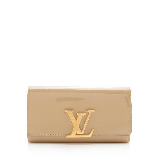 Louis Vuitton Patent Leather Louise Neo Sobe Wallet