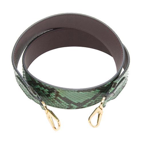 Louis Vuitton Python Bandouliere Shoulder Strap