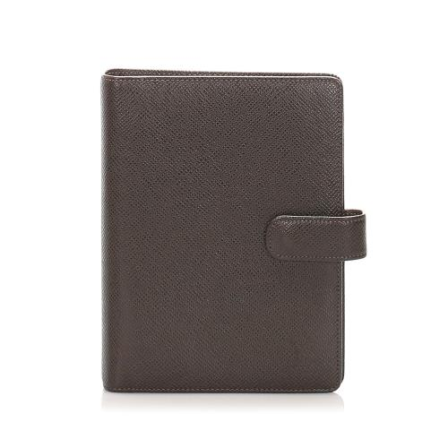 Louis Vuitton Taiga Agenda MM Cover