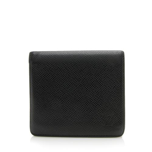 Louis Vuitton Taiga Leather Bifold Wallet