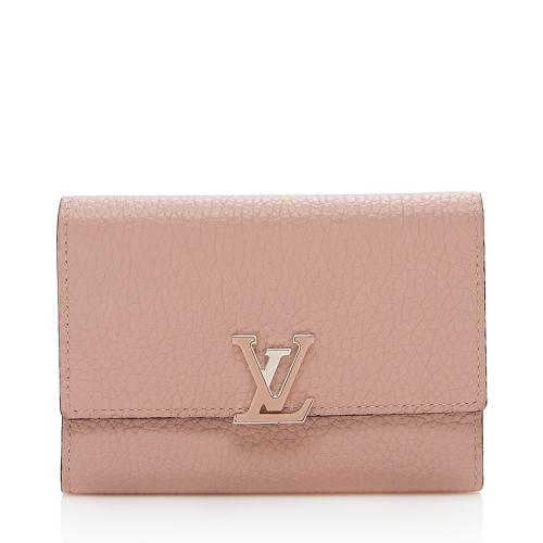 Louis Vuitton Taurillon Capucines Compact Wallet