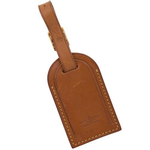 Louis Vuitton Vachetta Monogram Luggage Tag