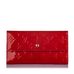 Louis Vuitton Vernis Porte Tresor International Wallet