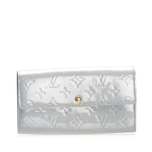 Louis Vuitton Vernis Sarah Long Wallet