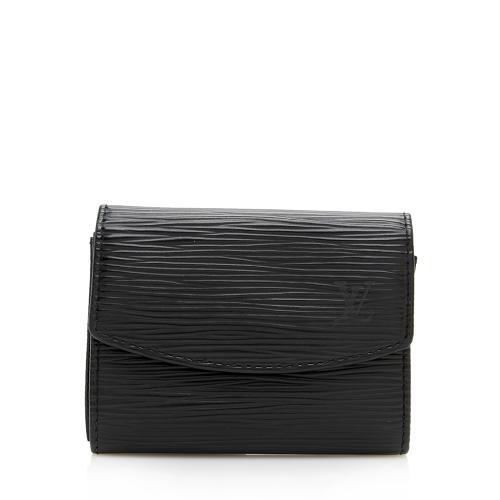 Louis Vuitton Vintage Epi Leather Card Case