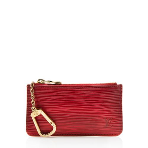 Louis Vuitton Vintage Epi Leather Key Pouch