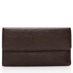Louis Vuitton Vintage Epi Leather Porte Tresor International Wallet