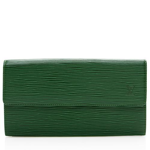 Louis Vuitton Vintage Epi Leather Sarah Wallet