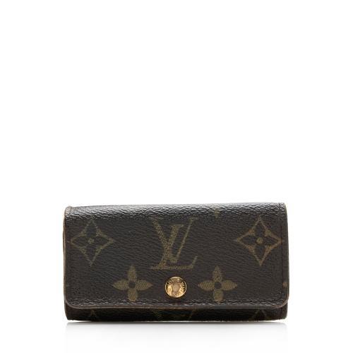 Louis Vuitton Vintage Monogram Canvas 4 Key Holder - FINAL SALE