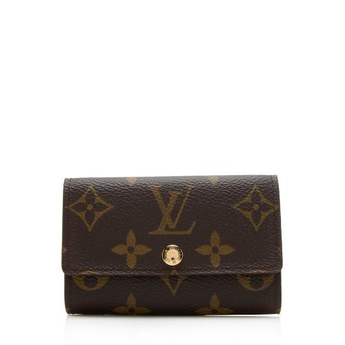 Louis Vuitton Vintage Monogram Canvas 6 Key Holder