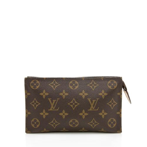 Louis Vuitton Vintage Monogram Canvas Compact Tour Toiletry Pouch