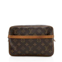 Louis Vuitton Vintage Monogram Canvas Compiegne 23 Cosmetic Bag