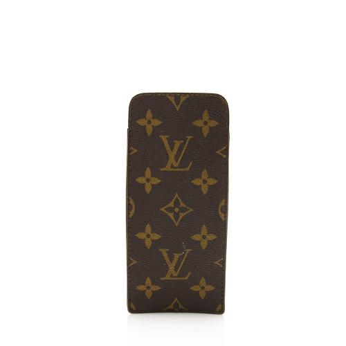 Louis Vuitton Vintage Monogram Canvas Etui Lunettes Eyeglasses Case - FINAL SALE