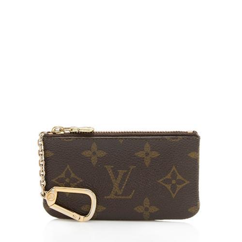 Louis Vuitton Vintage Monogram Canvas Key Pouch