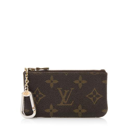 Louis Vuitton Vintage Monogram Canvas Key Pouch