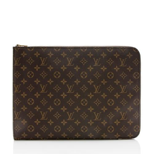 Louis Vuitton Vintage Monogram Canvas Poche Documents Portfolio