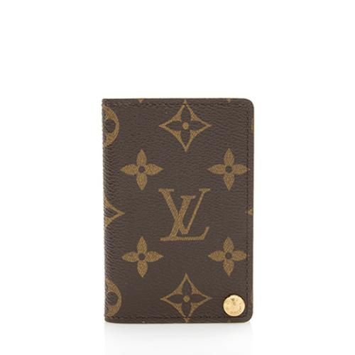 Louis Vuitton Vintage Monogram Canvas Porte Cartes Credit Pression Wallet