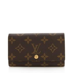 Louis Vuitton Vintage Monogram Canvas Porte Monnaie Tresor Wallet