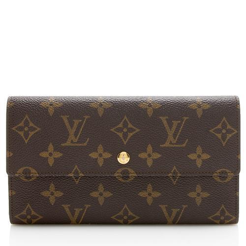 Louis Vuitton Vintage Monogram Canvas Porte Tresor International Wallet