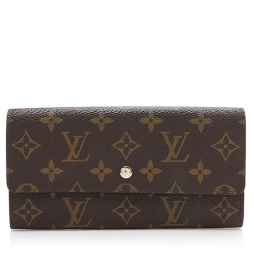 Louis Vuitton Vintage Monogram Canvas Sarah Wallet