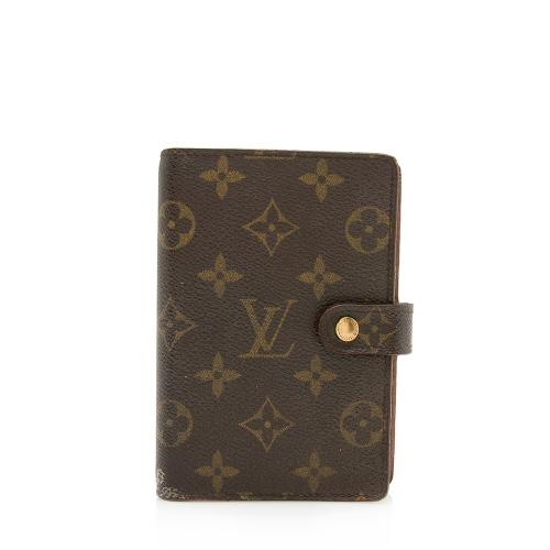 Louis Vuitton Vintage Monogram Canvas Small Ring Agenda Cover - FINAL SALE