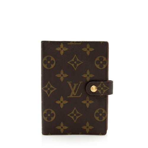 Louis Vuitton Vintage Monogram Canvas Small Ring Agenda Cover