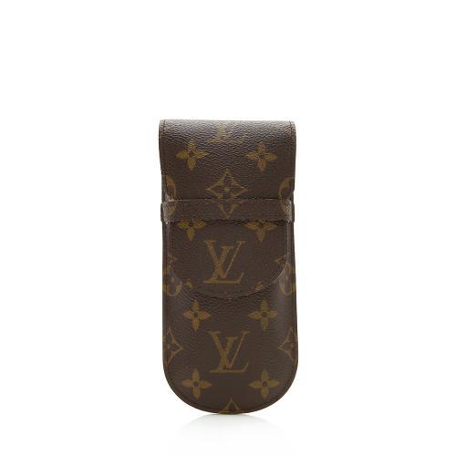 Louis Vuitton Vintage Monogram Canvas Etui a Lunettes Rabat Sunglass Case