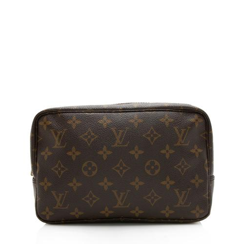 Louis Vuitton Vintage Monogram Canvas Trousse Toiletry Pouch 23