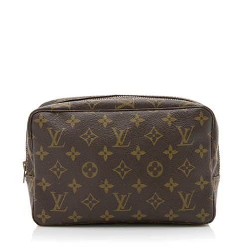 49754b5f7eb2 Louis-Vuitton-Vintage-Monogram-Canvas-Trousse-Toiletry -Pouch-23 85643 front large 0.jpg