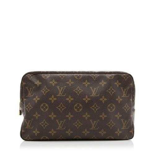 Louis Vuitton Vintage Monogram Canvas Trousse Toiletry Pouch 28