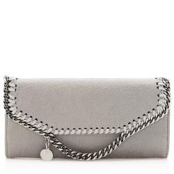 Stella McCartney Shaggy Deer Falabella Flap Wallet